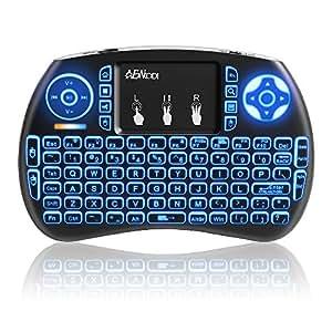 mini wireless keyboard anewkodi 2 4ghz mini backlit keyboard usb wireless keyboard. Black Bedroom Furniture Sets. Home Design Ideas