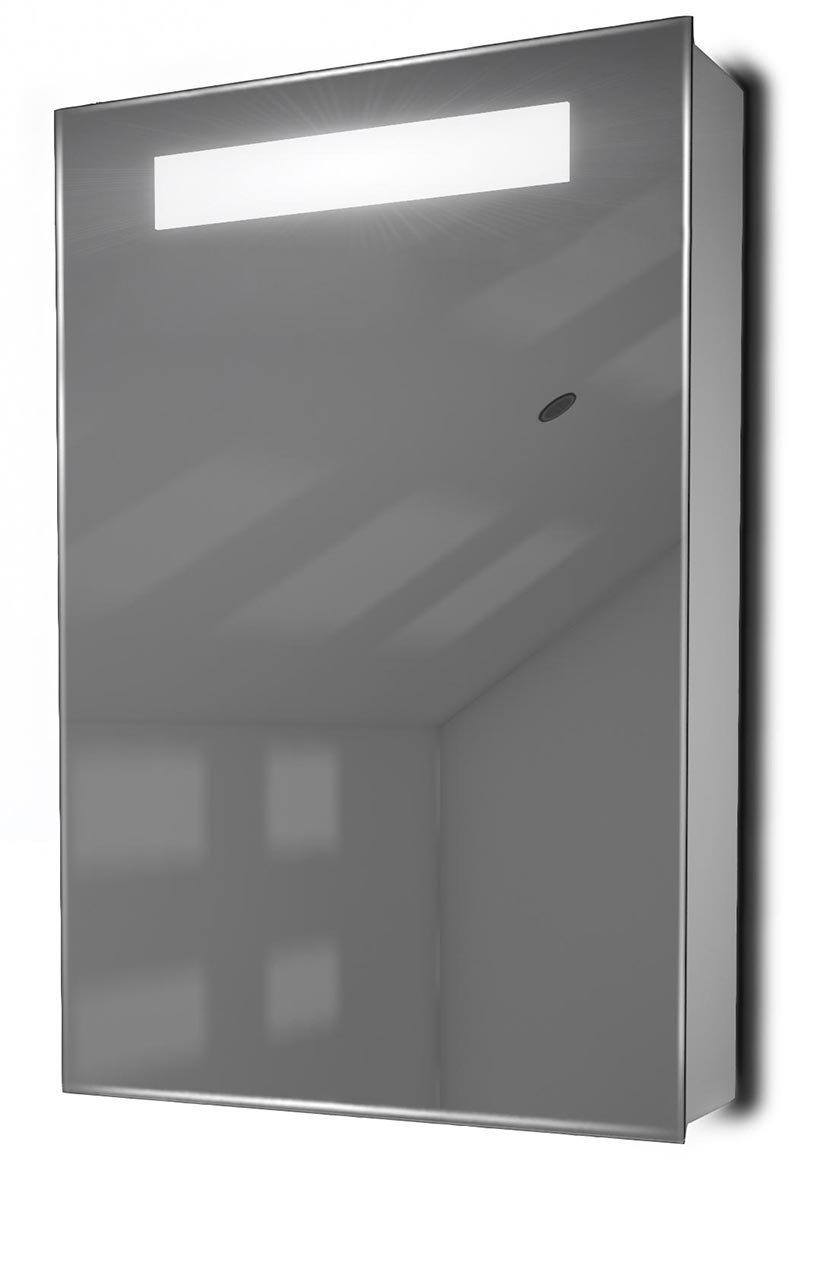 Olympia Demister LED Bathroom Mirror Cabinet With Demister, Sensor & Shaver k262 durable modeling