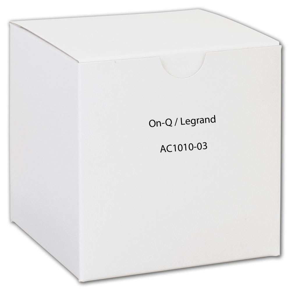 Legrand - On-Q AC101003 3Gang Low Voltage Bracket, Retrofit
