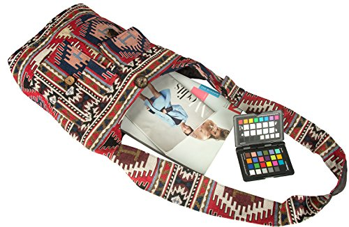 Aztec Hobo Oversize Bag Casual Market Shopping Travel Tribe Messenger Beach Crossbody Shoulder Azure Purse pf01q1