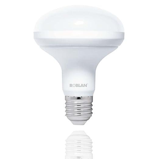 Roblan LEDR903000 Bombilla E27, 15 W, Blanco
