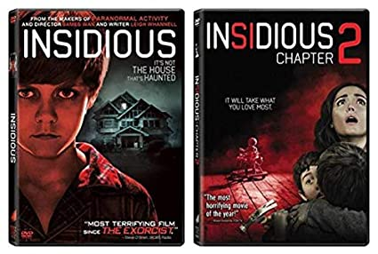 Amazon Com Insidious Insidious Chapter 2 Double Feature Movie Collecton Patrick Wilson Movies Tv