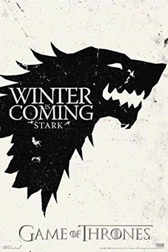 Pyramid America Game Of Thrones Winter Is Coming Stark TV Po