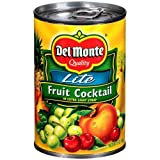 Del Monte Lite Fruit Cocktail in Extra Light Syrup, 15 Ounce - 12 per case.