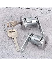 Metal Silver Door Lock Cylinder for Ford, Car door lock Cylinder, Professional Perfect Match for Ford