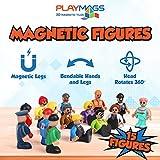 Playmags Magnetic Tiles Building : Unique