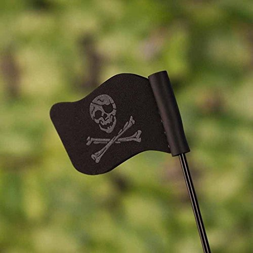 Mew Black Jolly Roger Pirate Flag Car Antenna Pen Topper Aerial Ball Decor Toy