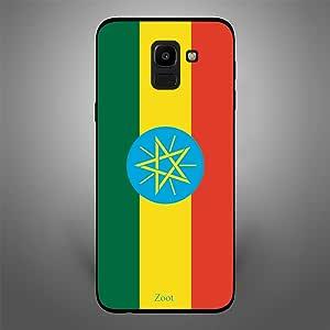 Zoot Ethiopia Flag Designer Phone Cover for Samsung Galaxy J6