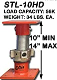 Ellis Manufacturing - HEAVY DUTY Steel Shore 10''-14'' Roller Bearings