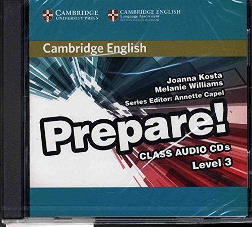 Cambridge English Prepare! Level 3 Class Audio CDs (2) pdf