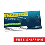 No-Jet-Lag (2018 Edition) - Jet Lag Prevention & Relief for Long Distance Flights | Travel Essential | Fly Smarter | All Natural Supplement | Airplane Accessories | No Jet Lag | 32 Tablets Included