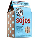 Sojos Crunchy Natural Dog Treats, Bacon Cheddar, 10-Ounce Box