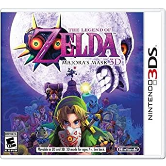 Amazon Com Nintendo Ctrpajre Legend Of Zelda Majoras 3ds