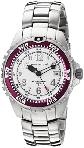 Momentum Women's 1M-DV11WE0 M1 TWIST Analog Dive Date Watch