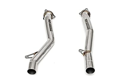 FABSPEED SECONDARY CATBYPASS PIPES for 2011-2014 PORSCHE CAYENNE TURBO/TURBO S