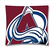 NHL Throw Pillow Covers, Colorado Avalanche Throw Pillow Cases for Sports Fans Black Friday