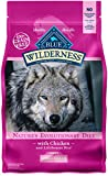 BLUE Wilderness Adult Small Breed Grain Free Chicken Dry Dog Food 4.5-lb