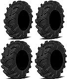 Full set of Arisun Swamp Thing (8ply) 27x9-14 and 27x11-14 ATV Tires (4)