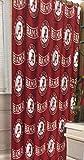 NCAA University of Alabama Decorative Bath Collection - Shower Curtain