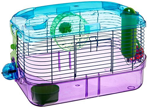 Hamster Cage | Gerbil Cage | Mice Cage | LED CritterTrail Lighted Habitats by Kaytee