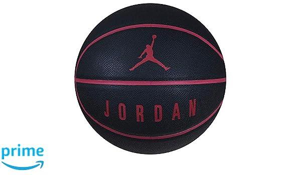 Jordan - Balón Unisex para Adulto, Rojo/Negro, 7: Amazon.es ...