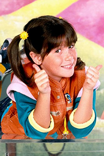 Soleil Moon Frye Punky Brewster Color 24x18 Poster