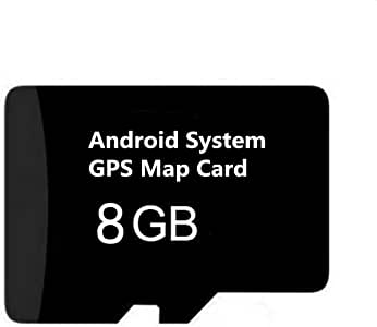 Android System Map SD Card, Navigation Card, Latest 2019 US/Canada Map Update for Car Stereo Radio GPS Navigator, ONLY For Android 4.2/4.4/5.1/6.0/7.1 ...