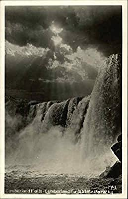 Cumberland Falls, Cumberland Falls State Park Kentucky Original Vintage Postcard