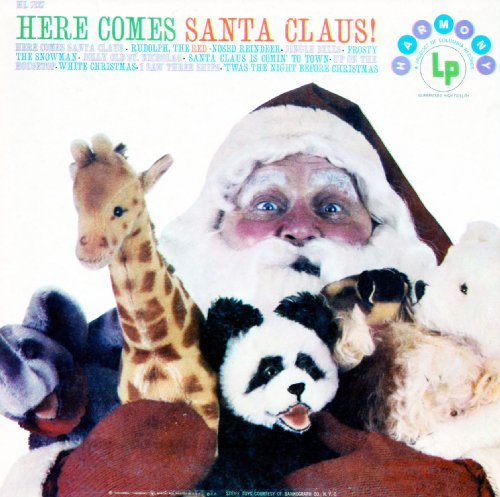 Audio CD. Here Comes Santa Claus. Harmony Records. Steiff Toys. (HL7137)