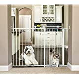 Carlson Maxi Extra Tall Pet Gate, Expands 51-59 Inches...