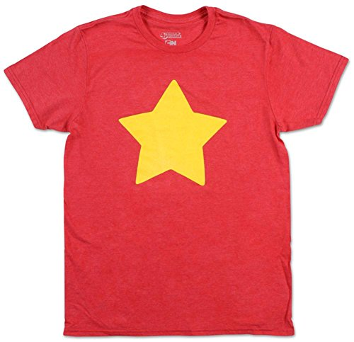 Steven Universe Star T-Shirt,Red,Small for $<!--$19.99-->