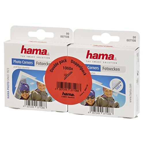 Hama Photo Mounting Corners 500 Pack 2 [7108] by Hama