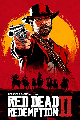 Red Dead Redemption Poster PS4 Xbox 360 24 x 36 inches (61cm x 91.5cm) (2 Giant Poster)