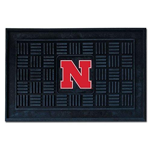 FANMATS NCAA University of Nebraska Cornhuskers Vinyl Door Mat