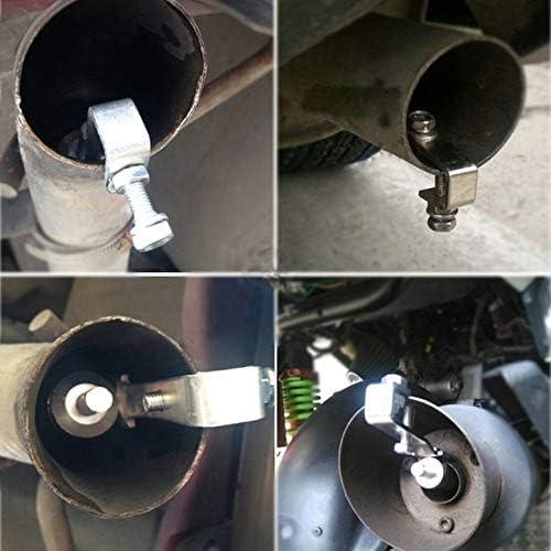 Auto und Motorrad-Auspuffrohr-Schalld/ämpfer Modifizierter Turbinenpfeifen-Universal-Heckpfeifenzubeh/ör