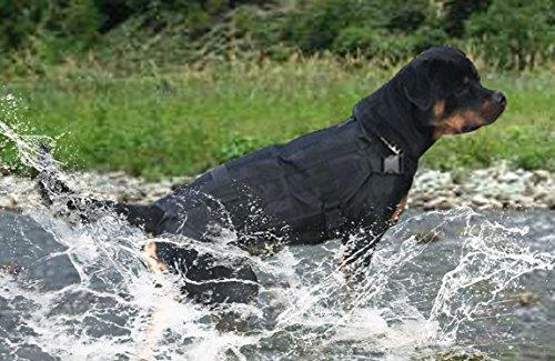 OSPet Dog Harness Dog Vest Military Service Dog Outdoor Hiking for Large Dogs