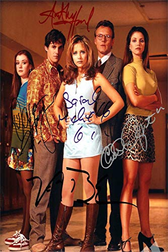 Buffy The Vampire Slayer Autograph Replica Super Print - Cast - Portrait - Unframed