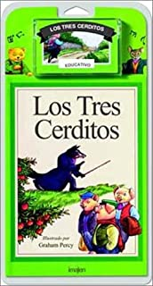 Los Tres Cerditos/The Three Little Pigs - Libro y Cassette (Spanish Edition)