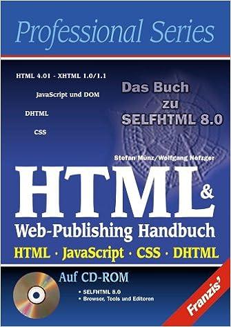 Html Web Publishing Handbuch Html Javascript Css Dhtml Amazon