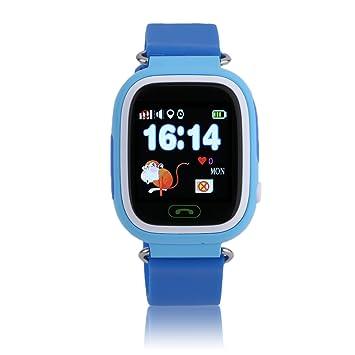 maistore Smartwatch Q90 5 sistema de posicionamiento WiFi GPS Tracker reloj niños anti-lost reloj inteligente SOS pulsera Sleep Rastreador OLED reloj ...