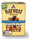 Atkins Harvest Trail Bars, Dark Chocolate Sea Salt Caramel, Gluten Free, 5 Count