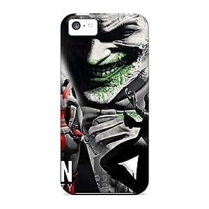 For Iphone 5c Fashion Design Arkham City Cases-gjP60834NaNY