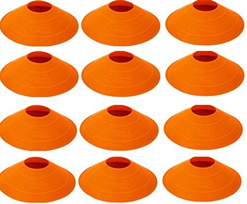 Orange Disc Cone Set - 7