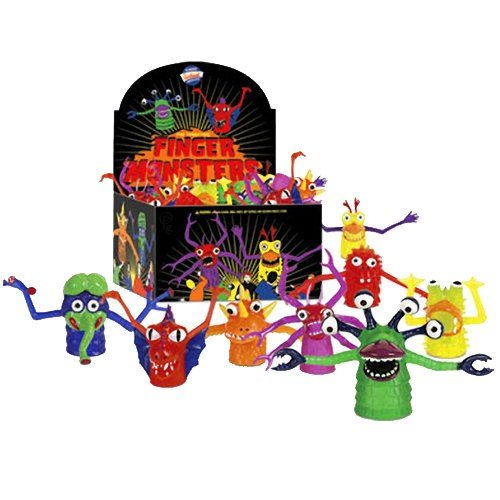 Alien Finger Puppets - Finger Monsters 60 Pack