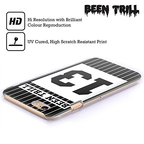 Official Been Trill Black Stripe Jersey Hard Back Case for Apple iPhone 3G / 3GS