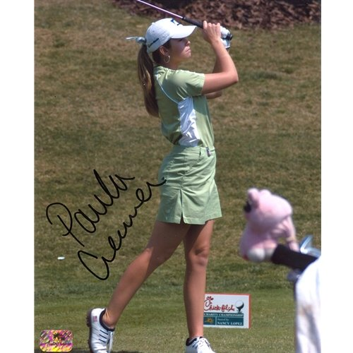 Paula Creamer Autographed 8x10 Photo