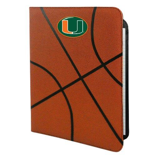 NCAA Miami Hurricanes Classic Basketball Portfolio, 8.5x11-Inch Ncaa Classic Basketball