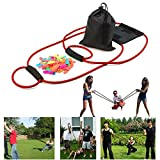 FOONEE Water Balloon Launcher, Fun Water Balloon Slingshot/Cannon/Catapult with 100 Water Balloons Outdoor Game for Kids and Adults
