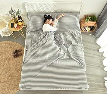 GYK Boutique Saco de Dormir de Viaje de algodón Saco de Dormir ...