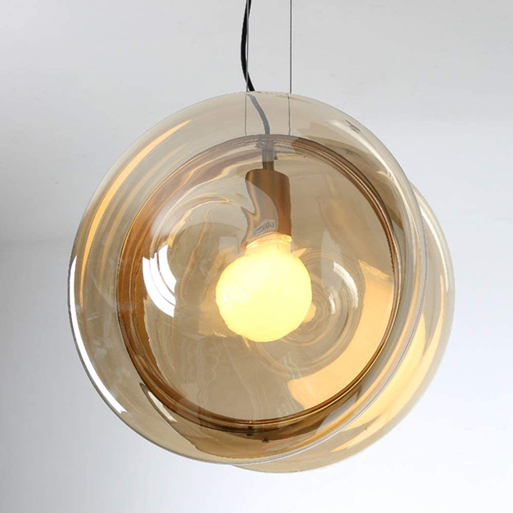 Color : Blue mm LLLNHQ Pendant Lights Blue and Pink and Gold Nordic Colored Glass Chandelier Creative Personality Bedroom Restaurant Cafe360*360